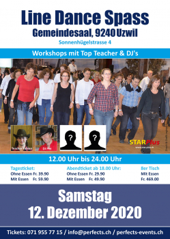 Line Dance Spass Tages-Ticket