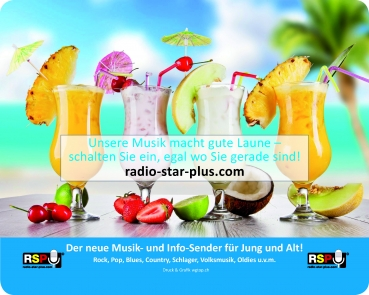 Mousepad Radio StarPlus