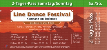 2 Tages Pass Samstag / Sonntag