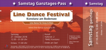 Samstag Ganztages Pass