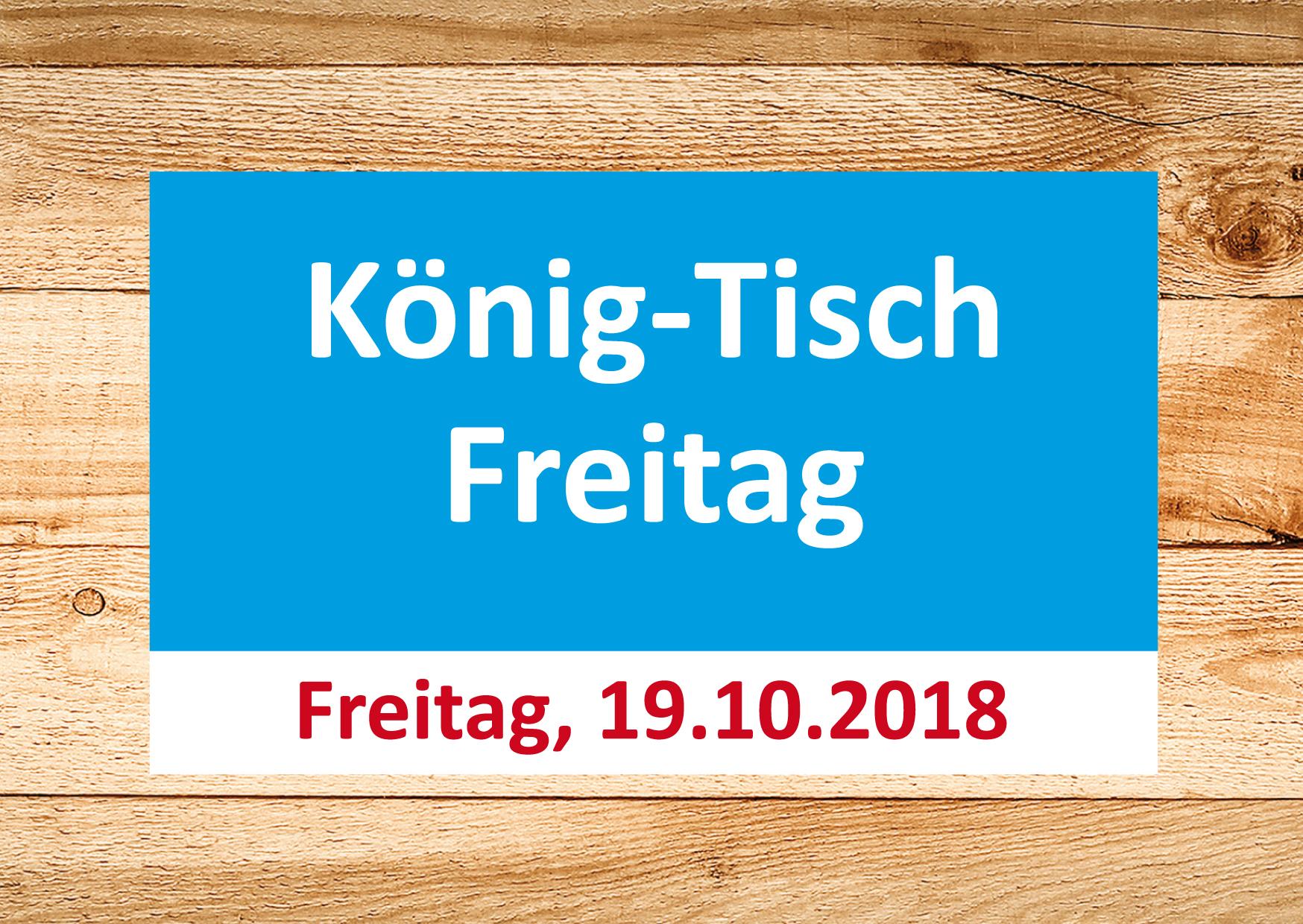 Perfects Ag König Tisch Freitag