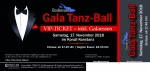 Gala Tanz Ball *VIP* inkl. Gala Dinner